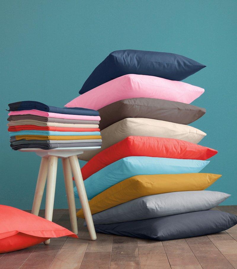 Funda de cojín Selenia 100% algodón