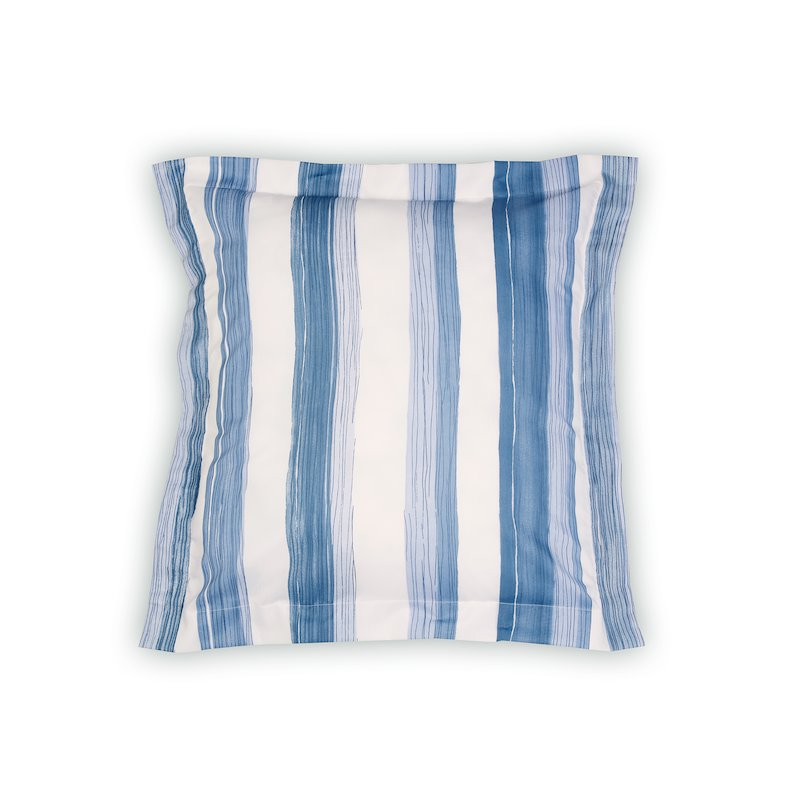 Funda de cojín a rayas Klaus tejido fácil lavado