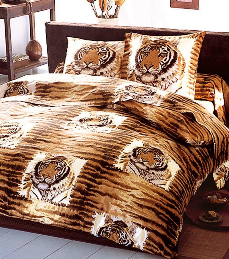 Funda de cojín Tigre