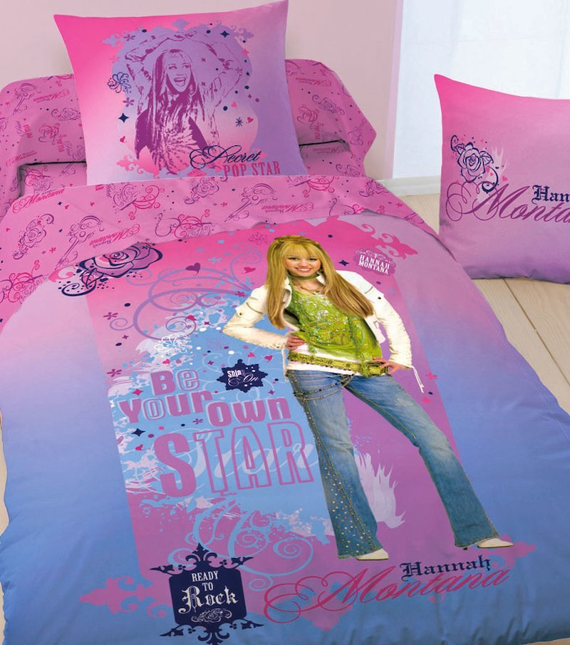 Funda cojín Hannah Montana
