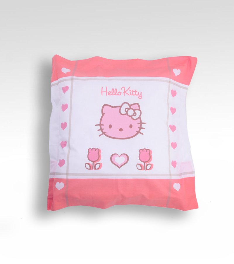 Funda de cojín estampada Hello Kitty algodón