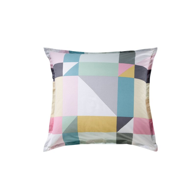 Funda de cojín o almohada ANGLES con estampados geométricos