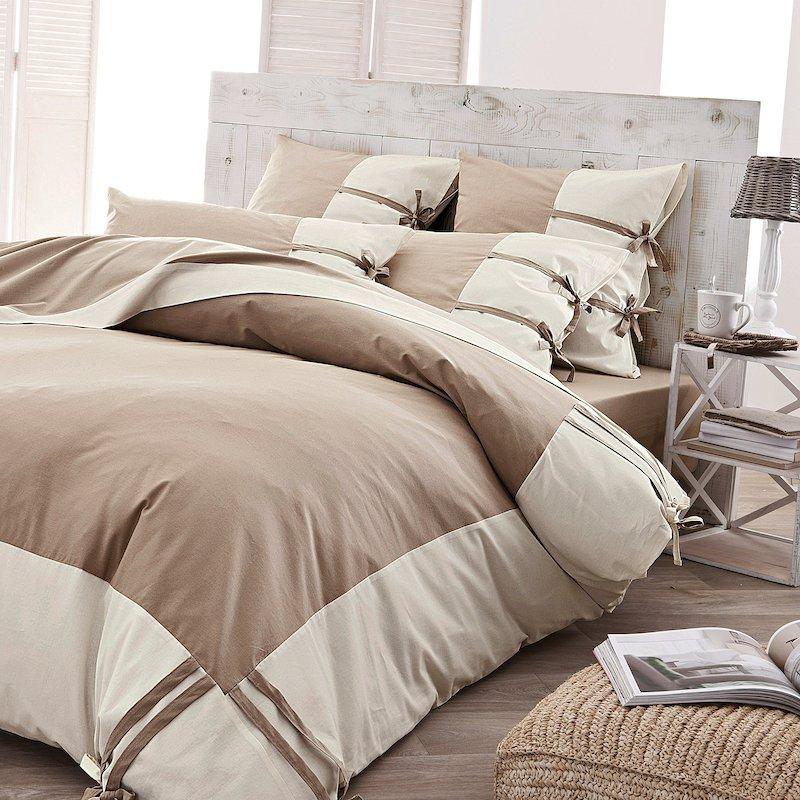 Funda de almohada Gi diseño bicolor