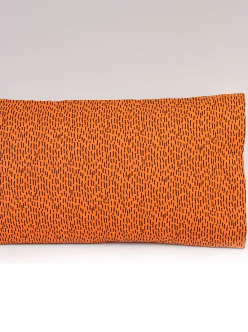 Funda de almohada JERÓNIMO estampado diseño bicolor