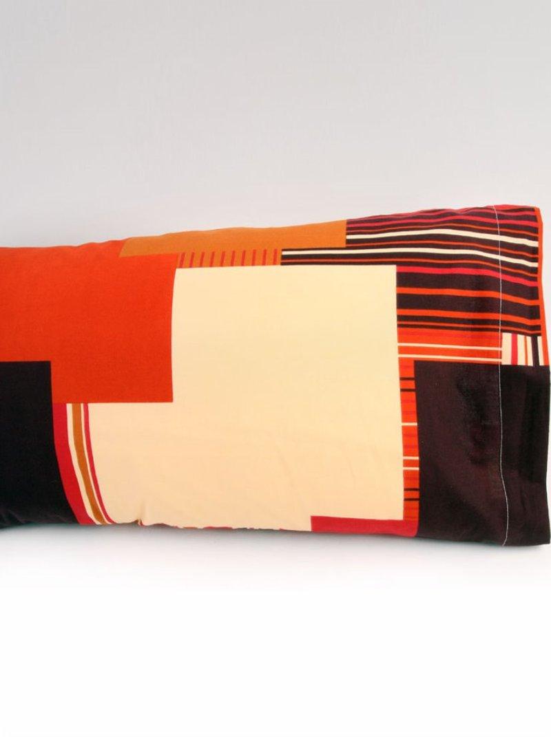 Funda de almohada Kouria en 100% algodón