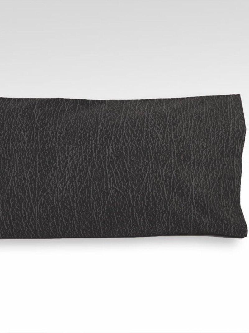 Funda de almohada TERRACOTA diseño bicolor