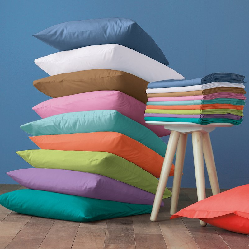 Funda almohada Selenia 50% algodón 50% poliéster