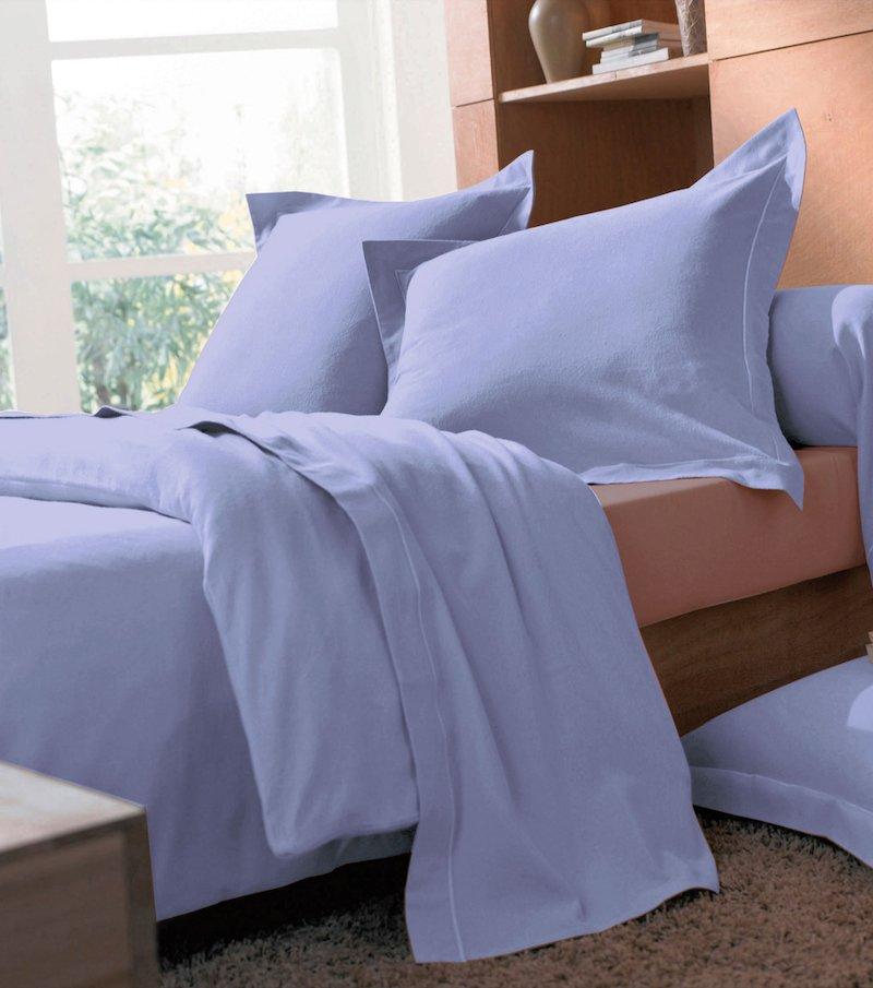 Funda de almohada de franela 100% algodón