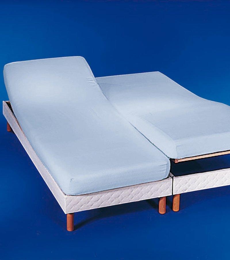 Sábana bajera polialgodón para camas gemelas