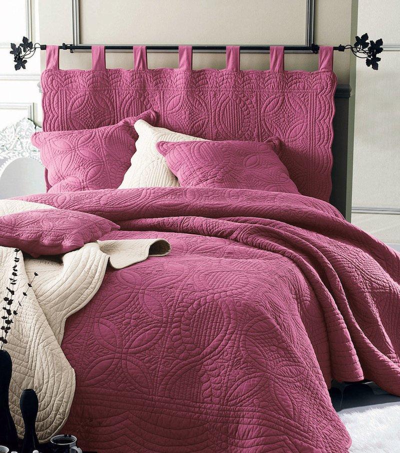 Cabezal de cama acolchado