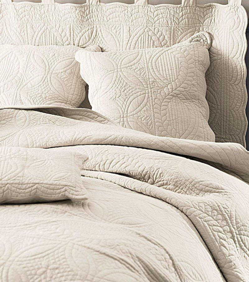 Colcha de cama bouti acolchada