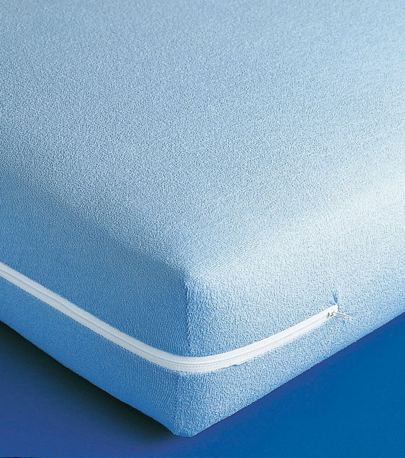 Funda de colchón extensible rizo 100% algodón