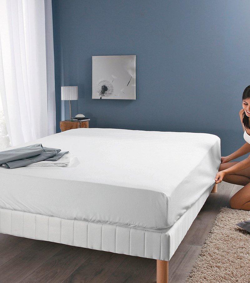 Protector colchón autoajustable 100% algodón