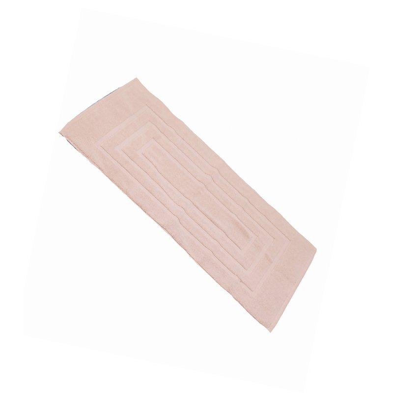 Alfombra baño rectangular rizo 100% algodón