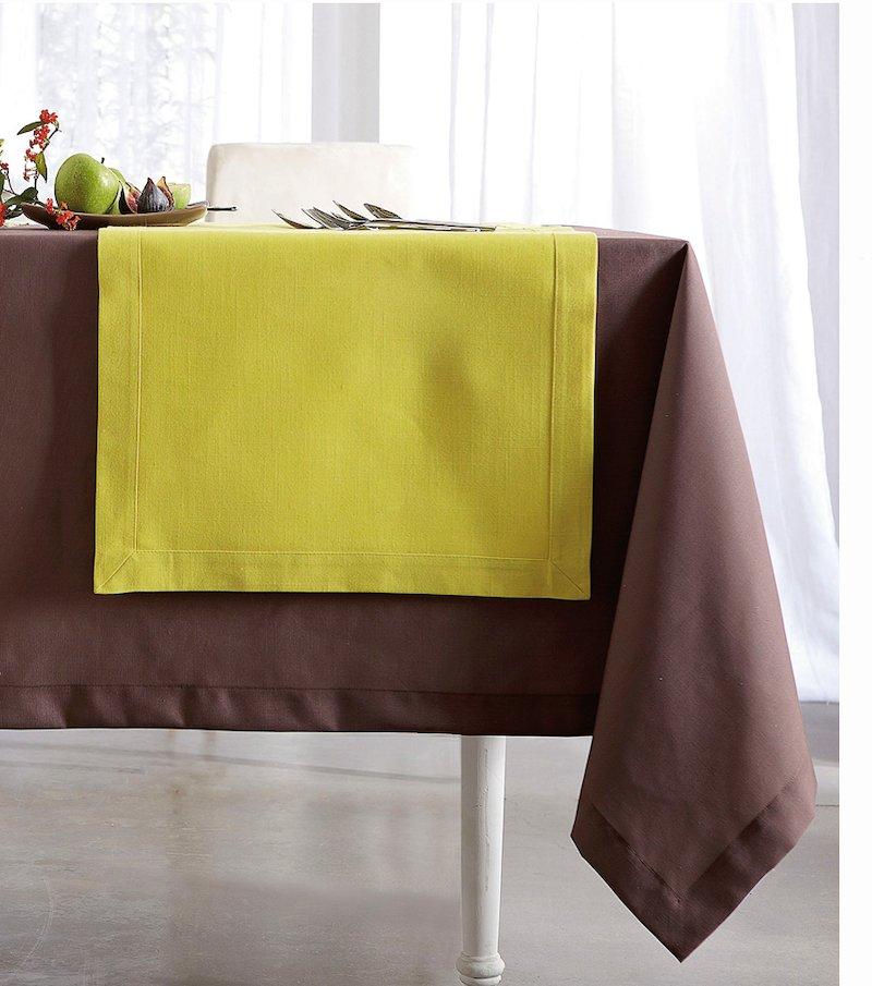 Mantel tejido símil lino