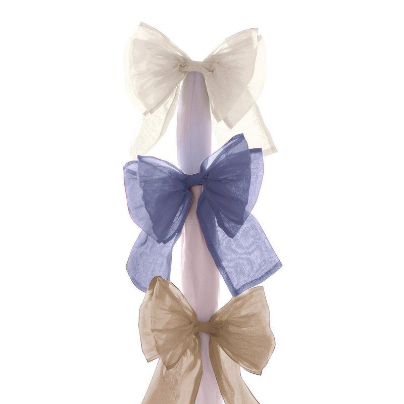 Abrazadera lazo decorativo para cortina