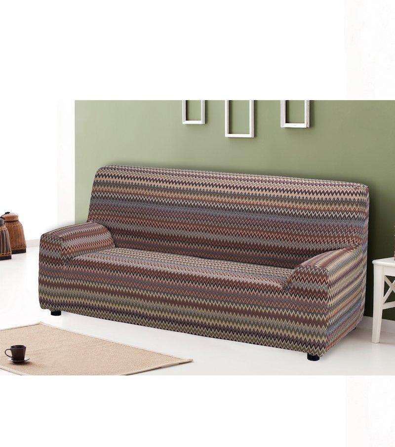 Funda sofá elástica Zig-zag