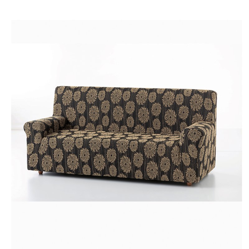 Funda protege sofá Uganda bicolor elástico