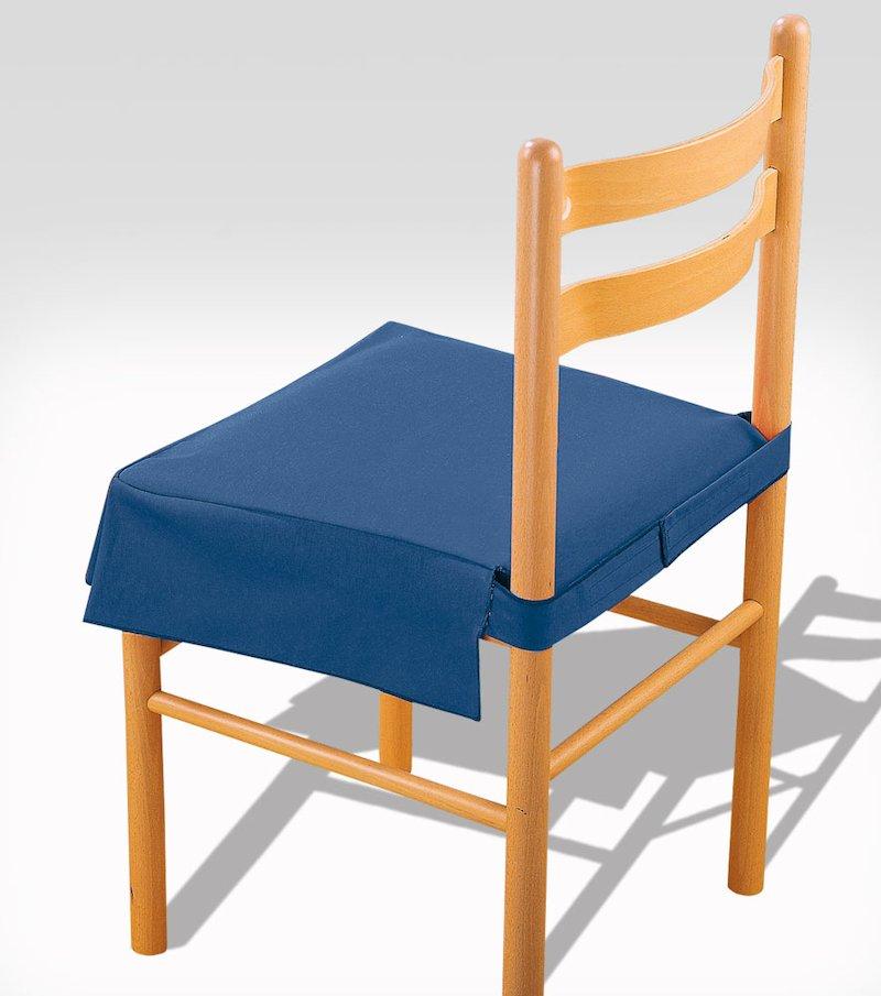 Funda  silla de loneta con fuelle y relleno