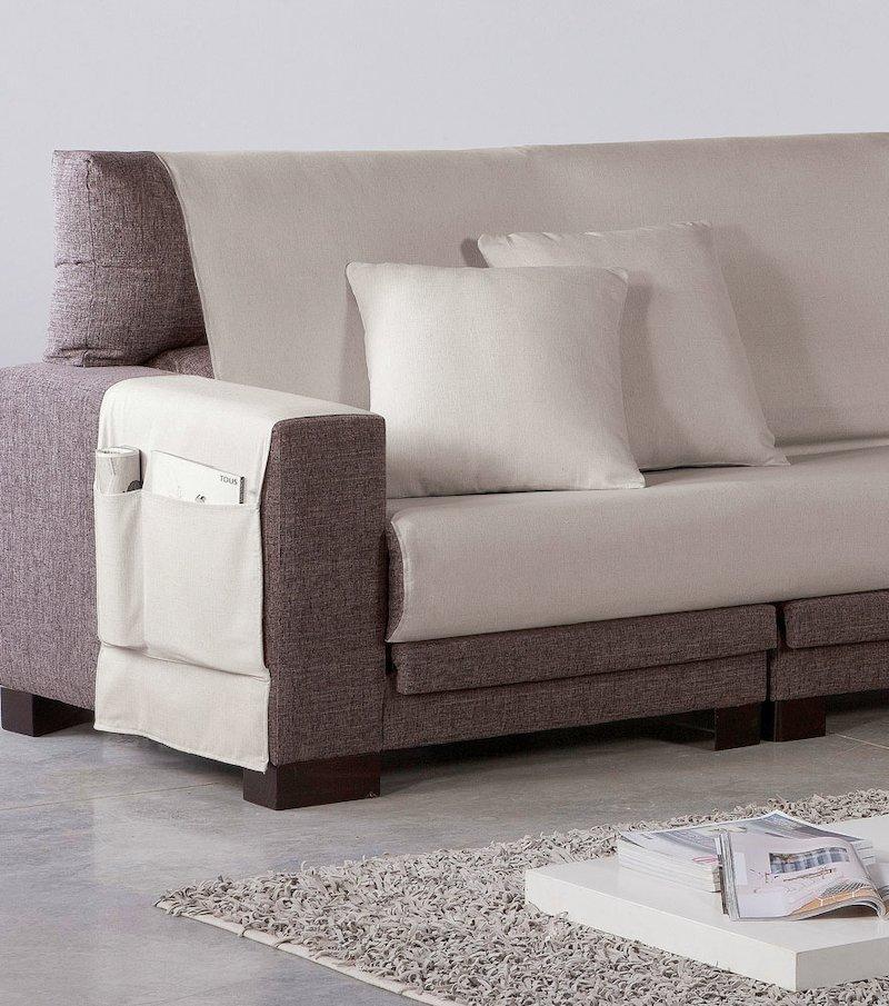 Salva sofá de loneta que protege de manchas