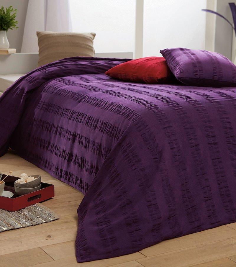 Foulard Colcha tejido en relieve 100% algodón