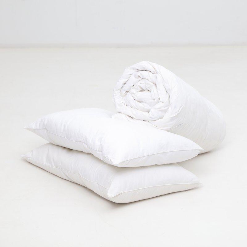 Relleno nórdico + 2 almohadas de plumas