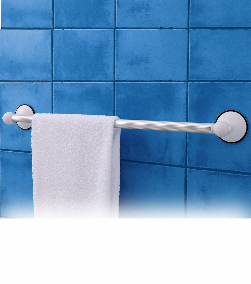 Toallero extensible baño