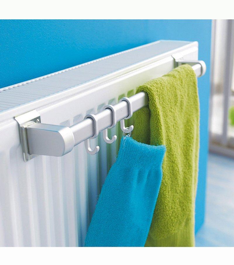 Barra seca toallas para radiador