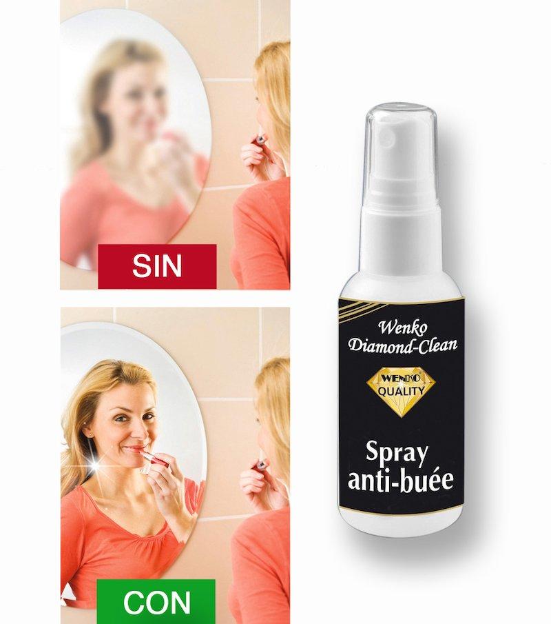 Spray antivaho con paño