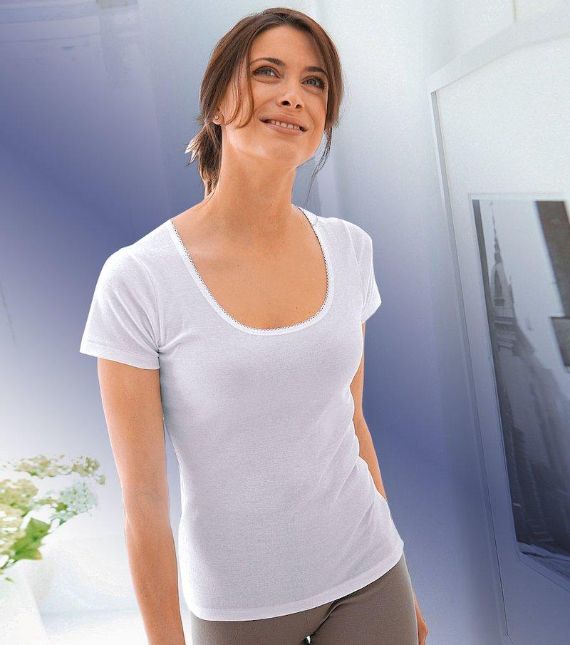 Camiseta hidratante mujer manga corta