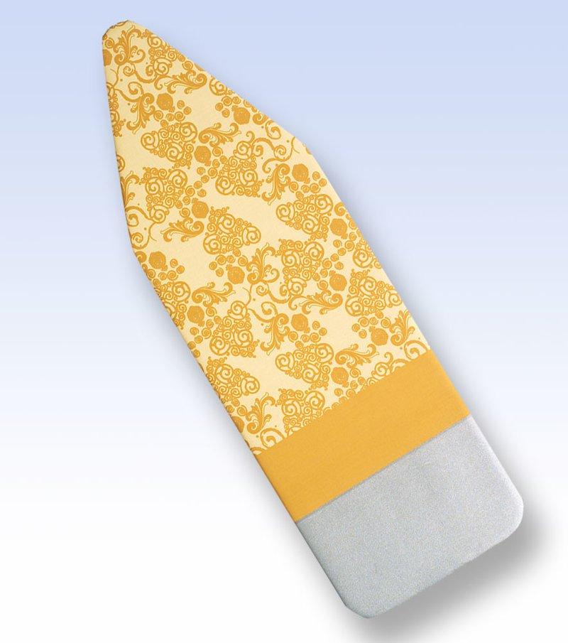 Funda plancha deslizante con reposa plancha beige