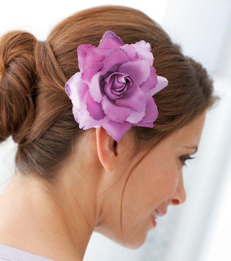 Rosa cabello y ropa 3 en 1