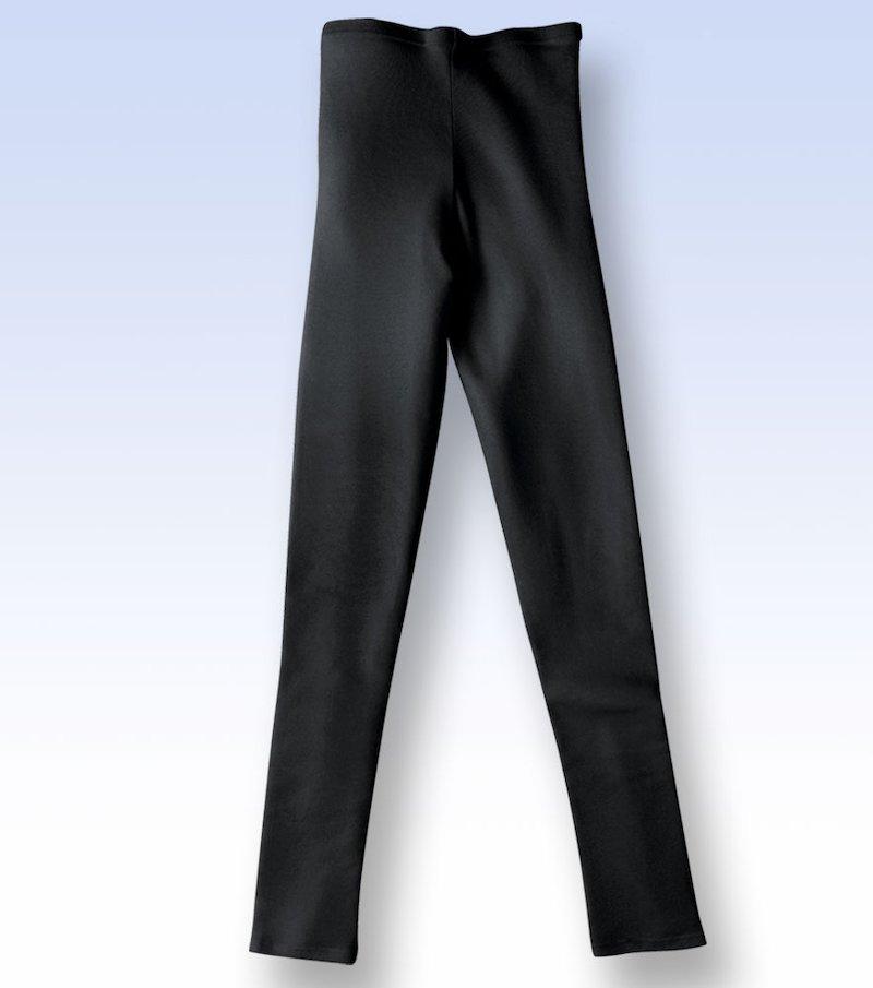 Pantalón reductor calor mujer especial noche - Negro