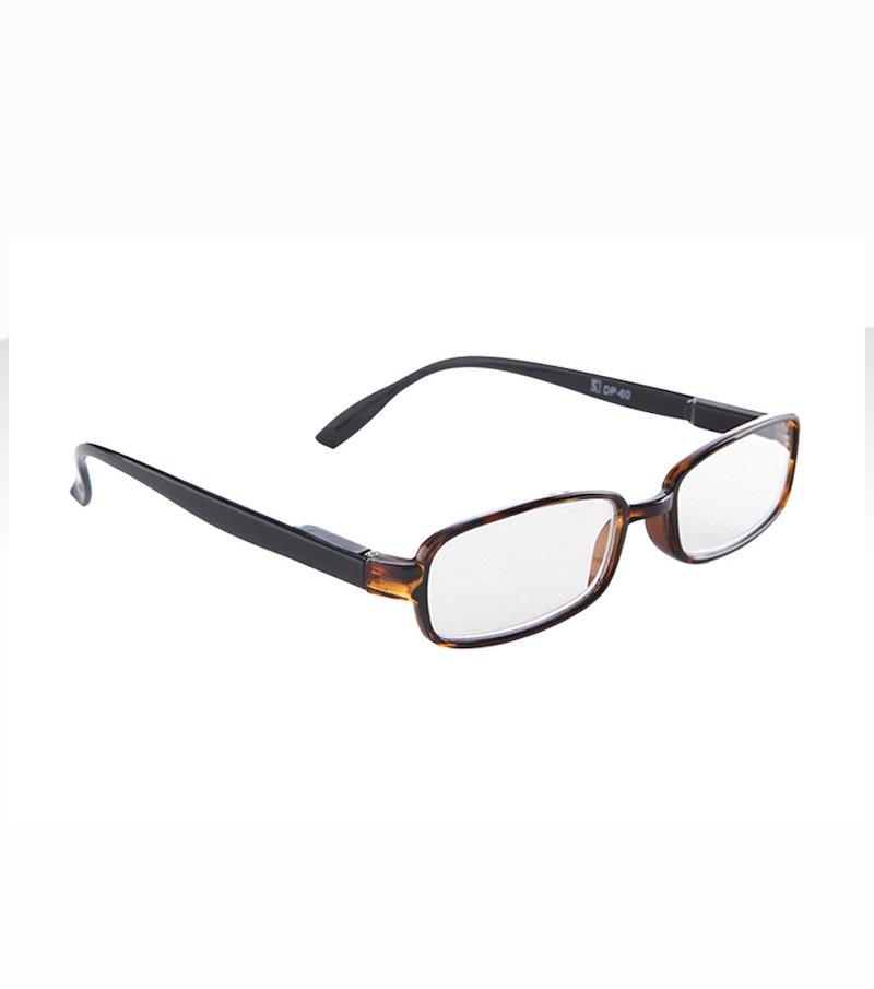 Gafas de lectura vidrios irrompibles - Marrón
