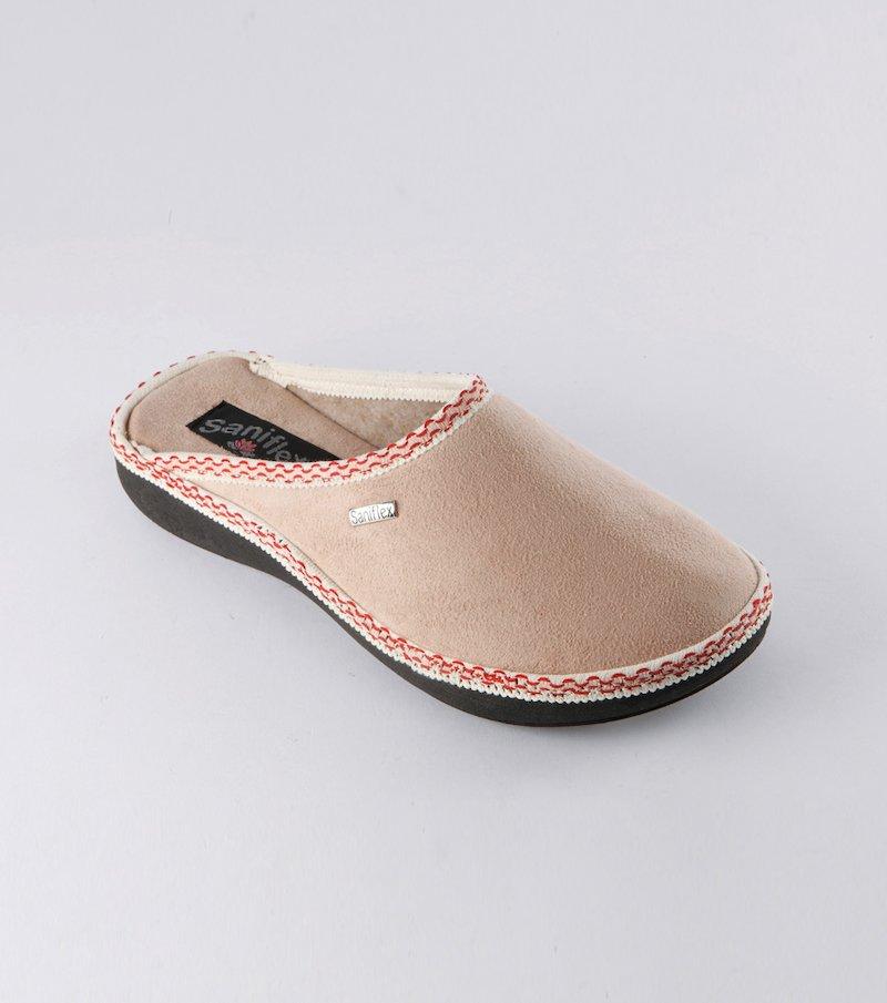 Zapatillas con ribete fosforescente
