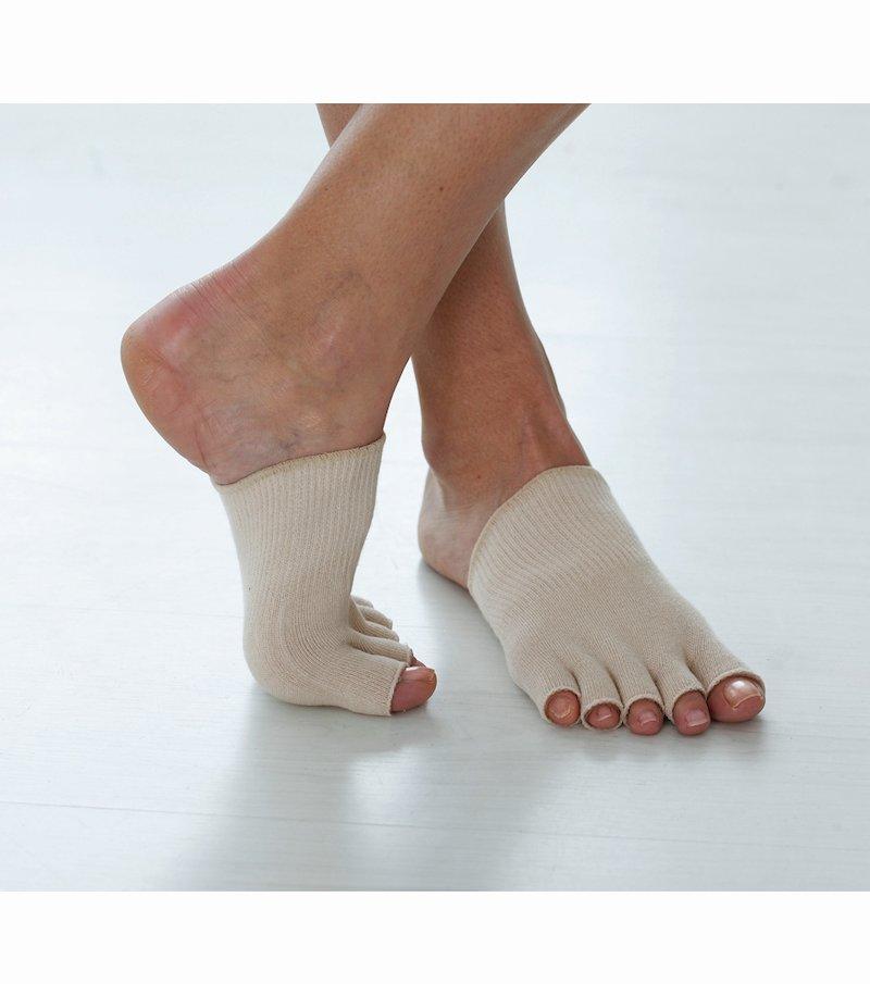 Mitones para dedos pies con gel