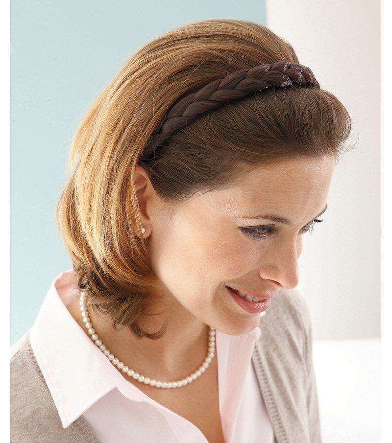 Diadema para el pelo mujer trenzada