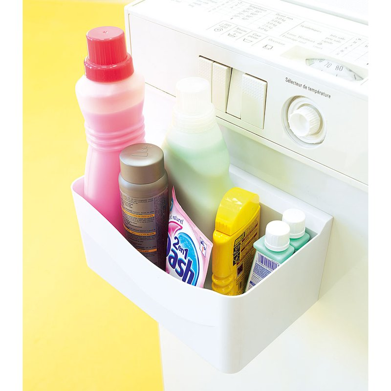 Soporte utensilios lavadora