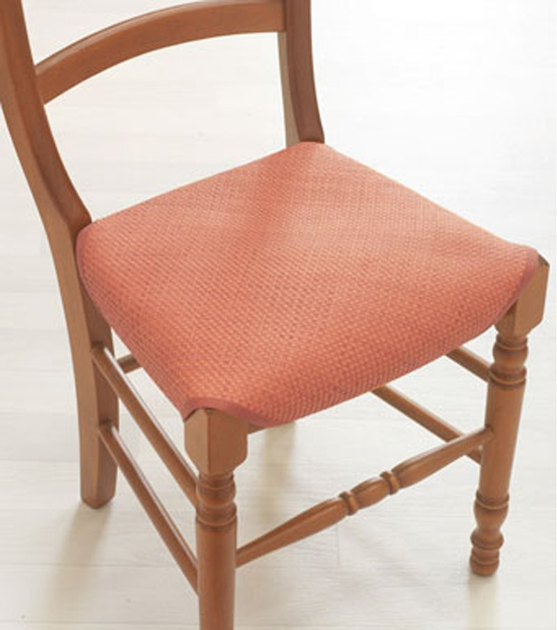 Cubre silla liso de estilo esterilla