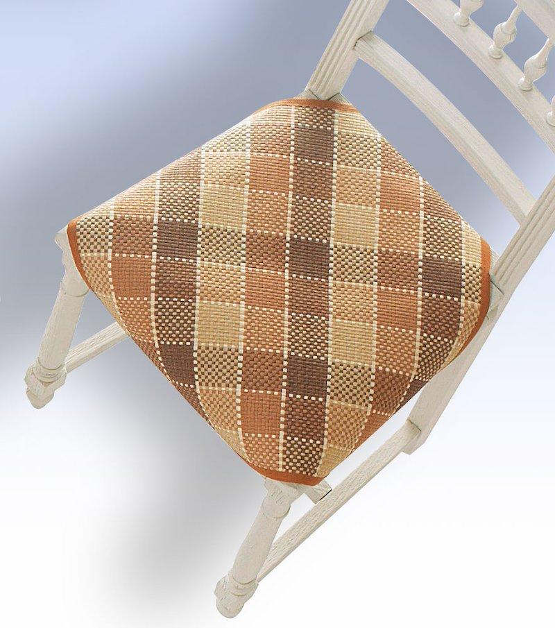 Cubre silla cuadros escoceses