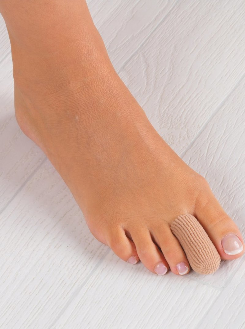 Lote 2 protectores tubulares para pies y manos
