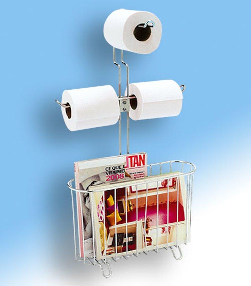 Soporte papel WC revistero