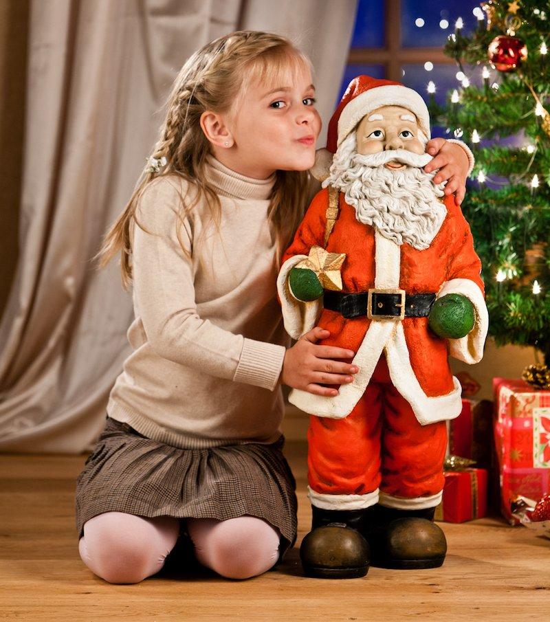 Figura Papa Noel grande