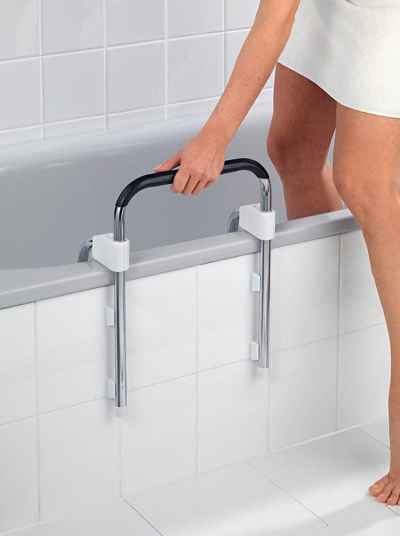 Asidero para bañera adaptable evita caídas