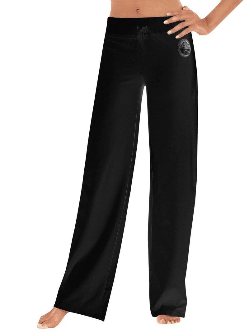 Pantalón largo cinturilla ancha elástica