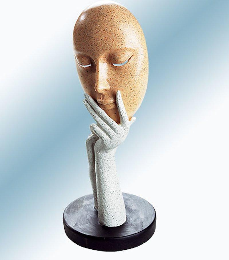 Figura decorativa tipo marmol