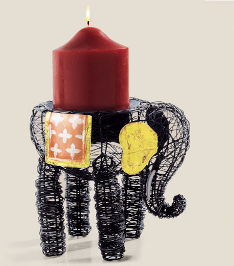 Elefante Portavelas