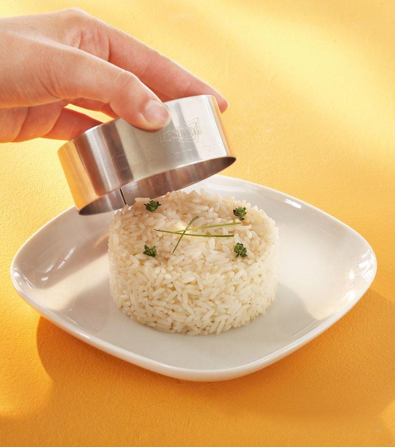 Lote 2 aros de presentación culinaria