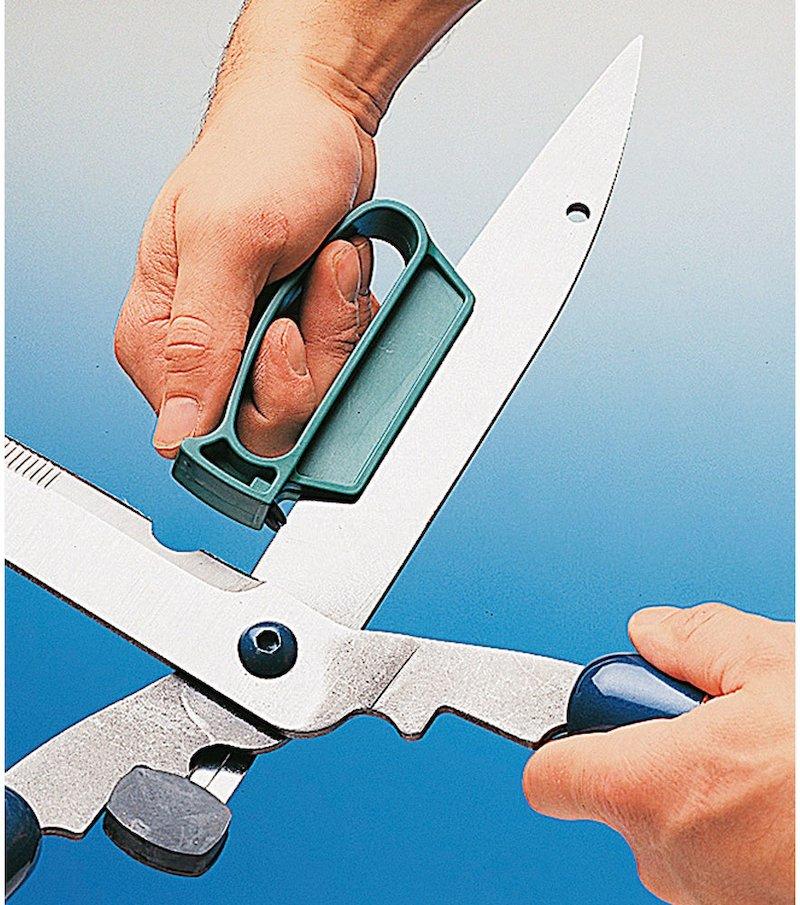 Afilador de herramientas de jardín