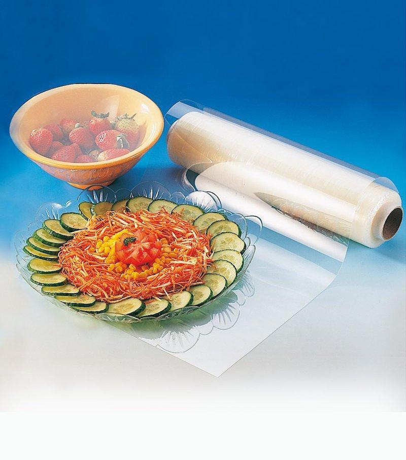 Film alimentario transparente extensible